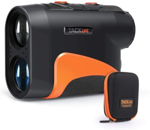 TACKLIFE Golf Rangefinder 600 Y,Adjustable Eyepiece,6X Magnification with Slope/