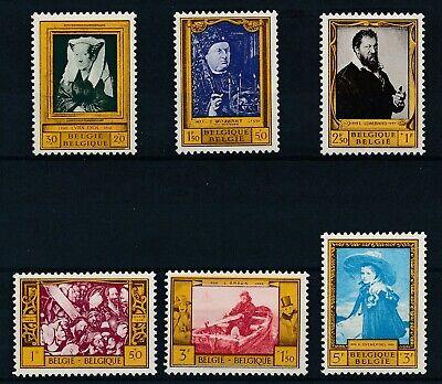 [856] Belgium 1958 good Set very fine MNH Stamps