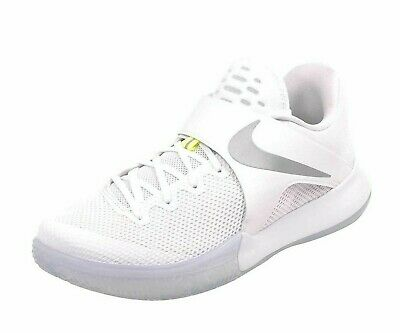 innovative design 46731 32bf9 Nike Mens Zoom Live Sneakers 852421 117 White Reflect Silver-Volt Size 10.5