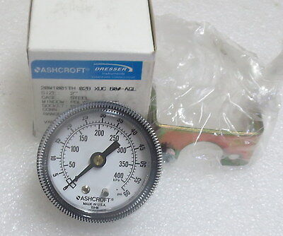 Ashcroft 2 Panel Mount Pressure Gauge 20w1001th 0-60 Psi Several Avail New