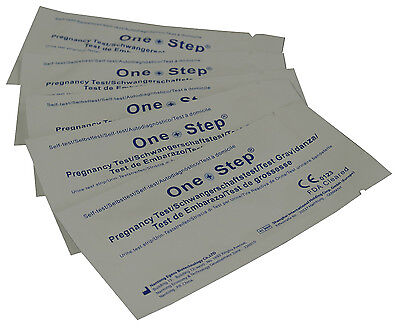 One Step® 30 x Pregnancy Tests Strips 10mIU Home Urine Test Kits