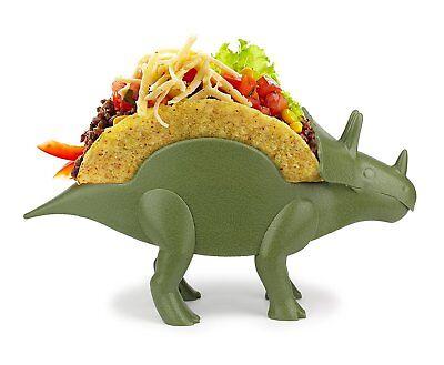 TriceraTACO Taco Holder 1x Jurassic Dinosaur Taco Stand Plate Fun Dish - Taco Holder Plate