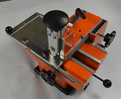 Semi-automatic Plate Embossing Machine Metal Marking Machine Stamp Screen Print