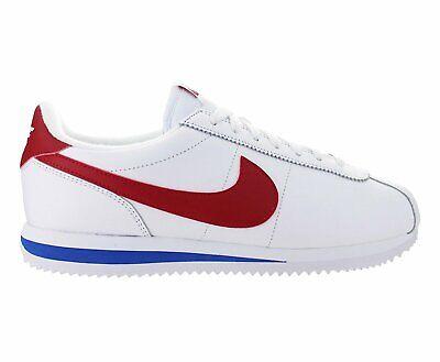 Nike Cortez Basic Leather OG White/Varsity Red (882254 164)