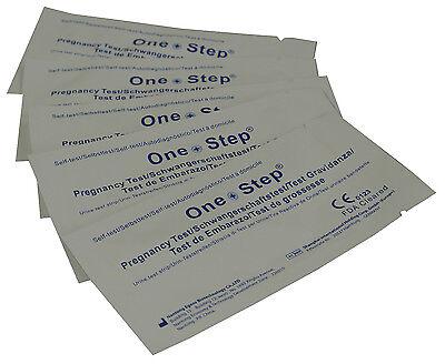 25 Pregnancy Test Strips ULTRA EARLY 10mIU HCG Urine Testing Kits One Step