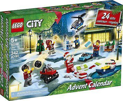 LEGO City Advent Calendar 60268 Playset, Includes 6 City Adventures TV Series Ch