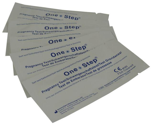 One Step® Pregnancy Test Ultra Early 10mIU HCG Urine Strip Testing Kits