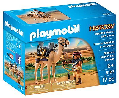 PLAYMOBIL Egyptian Warrior with Camel - Collectible Toy - Brand New