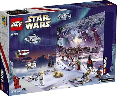 LEGO Star Wars Advent Calendar 75279 Building Kit for Creative Fun (311 Pieces)