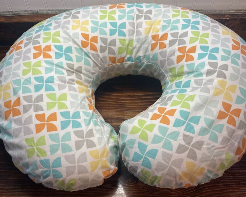 Boppy Pillow Original Feeding and Infant Support Pillow with 2 Covers