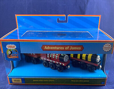 Adventures of James Wooden Railway Thomas And Friends 2007 Learning Curve