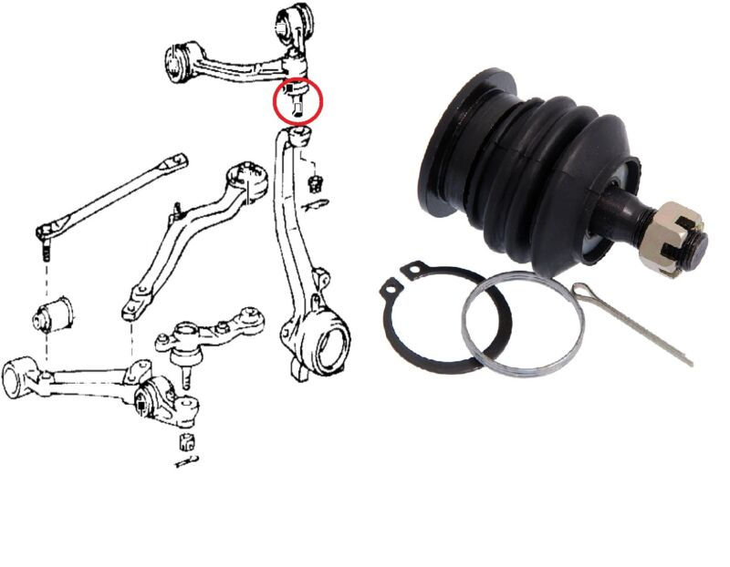 BALL JOINT FRONT UPPER ARM FOR LEXUS IS200 300 TOYOTA ALTEZZA CROWN CHASER MARK2