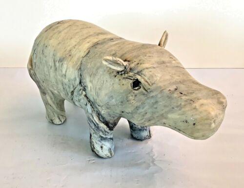 HIPPO animal FIGURINE Resin Hippopotamus NICE