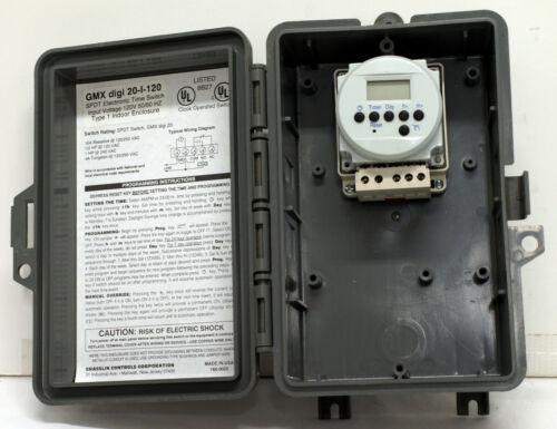 Grasslin GMX digi 20-I-120 SPDT Electronic Time Switch - NEW