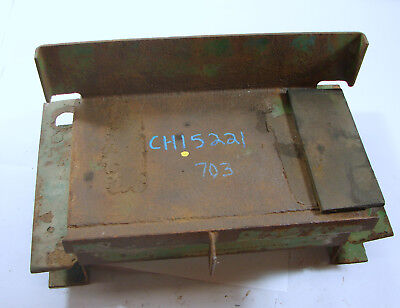 Ch15221 John Deere 650 750 Compact Tractor Battery Cover Battery Tray