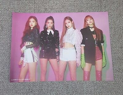 K-POP BLACKPINK 1st Mini Album - [SQUARE UP] 2Sided OFFICIAL POSTER -NEW-
