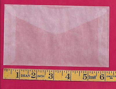 """50 NEW JBM #5 Glassine Envelopes 3 1/2"""" x 6"""""""