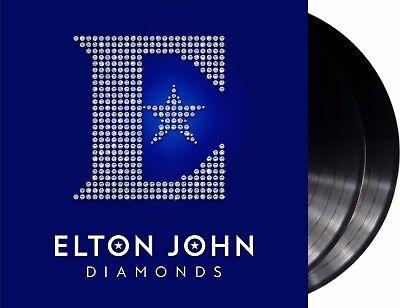 """Elton John """"diamonds - the ultimate greatest hits"""" 180g Vinyl 2LP + MP3 NEU 2017"""