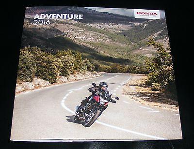 Honda Adventure Brochure 2016 - VFR1200X CRF1000L VFR800X NC750X CB500X CRF250L