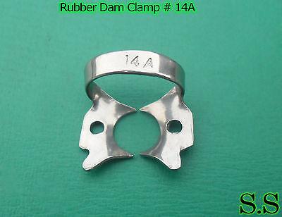 3 Endodontic Rubber Dam Clamps 14a Dental Instruments
