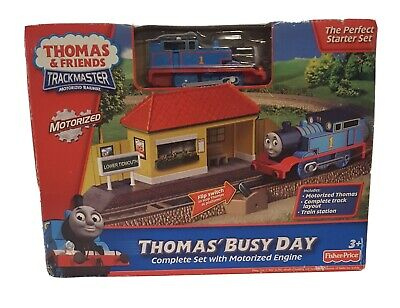 Thomas And Friends Trackmaster Thomas' Busy Day Complete Set W/ Motorized Engine