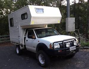 Nissan Navara / Slide-on Camper Combination Minlaton Yorke Peninsula Preview