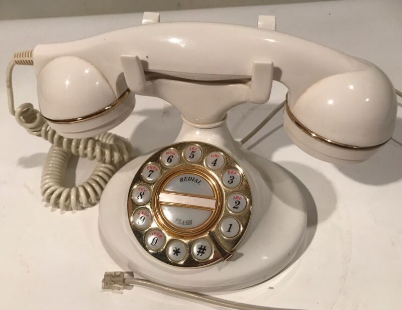 Vintage Microtel Telephone Model 964 Retro Style Push Button,Tone/Pulse Settings