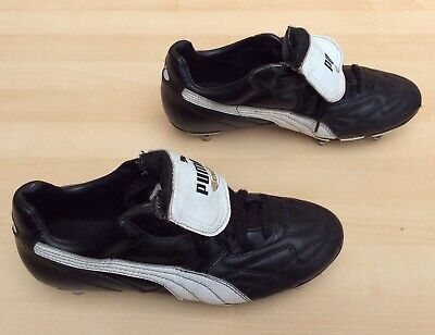 Puma King SG Black Football Boots Size 6