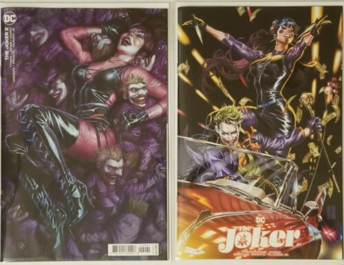 The JOKER #1 & #2 NM+ Brooks Bermejo 1st Appearance Banes daughter Vengeance NM