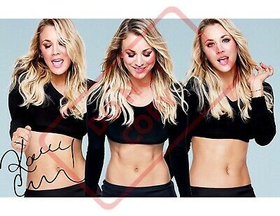 8.5x11 Autographed Signed Reprint RP Photo Kaley Cuoco Sexy TBBT for sale  Kansas City