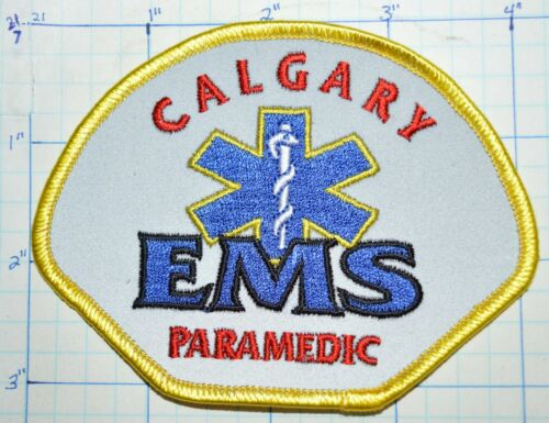 CANADA, CALGARY PARAMEDIC EMS EMERGENCY MEDICAL SERVICE RELECTIVE PATCH