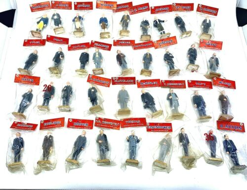 NOS COMPLETE LOT 36 MARX Pretested Promotions US Presidents Figures NIXON Sealed