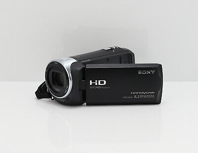 SONY HANDYCAM HDR-CX240E CAMCORDER HD HIGH DEFINITION VIDEO CAMERA & 32GB CARD