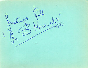 ORIGINAL-AUTOGRAPH-THE-THREE-MONARCHS-MUSIC-GROUP-1951-HALL-SIGNED-ALBUM-PAGE
