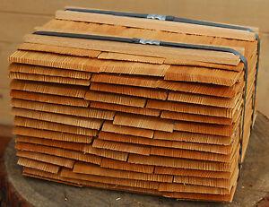 Lärchenschindeln 20cm, gespalten Holzschindeln Gartenhaus Vordach Spielhaus