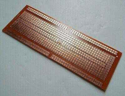 Stripboard Prototype Proto Board Pcb 5er Breadboard Layout Fr-2 4.8x13.4cm