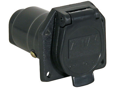 Buyers Trailer Star Tc1007p Flat 7 Pin Trailer End Connector Plug Vehicle