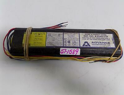 Advance Transformer 120v .63amp Electronic Ballast R-2s40-1-tp