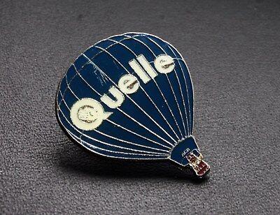 Pin Heissluftballon Quelle altes Logo selten Ballon Anstecker vintage badge rar