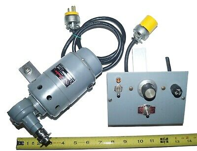 Boehm Gear Motor With Variable Speed Control 132ac .35 Amp
