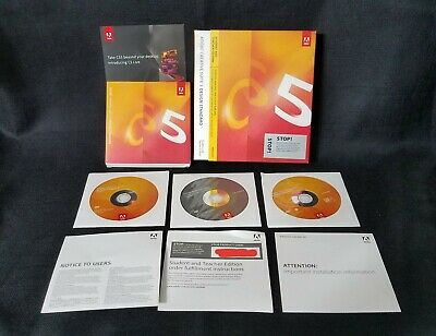 ADOBE CREATIVE SUITE CS5 DESIGN STANDARD FOR WINDOWS STUDENT & TEACHER EDITION
