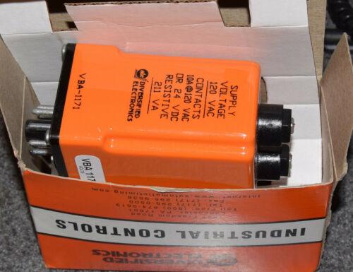 DIVERSIFIED ELECTRONICS VBA1171 VOLTAGE MONITOR RELAY