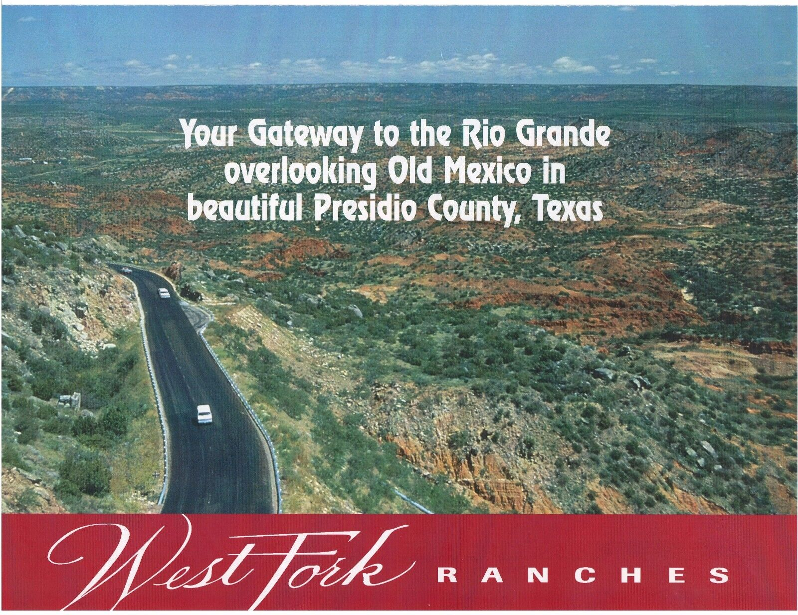 TEXAS Presidio Large ranch by Rio Grande River SW Texas 60 ac