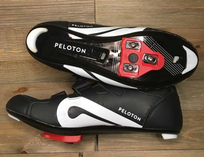 peloton cycling shoes with cleats - new with box