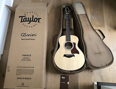 2020 Taylor GS Mini Acoustic Guitar with Rosewood Back and Sides Mint Unplayed