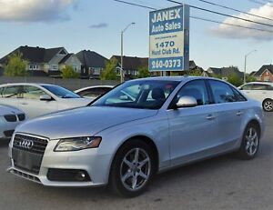 2009 Audi A4 2.0T Premium ONE OWNER | LOW MILEAGE | LEATHER I...