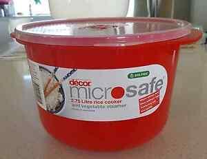 Decor Microsafe 2.75 Litre Rice Cooker and vegetable steamer Kiama Kiama Area Preview