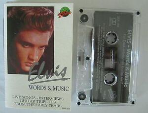 ELVIS-PRESLEY-WORDS-MUSIC-AUSTRALIAN-RELEASE-CASSETTE-TAPE