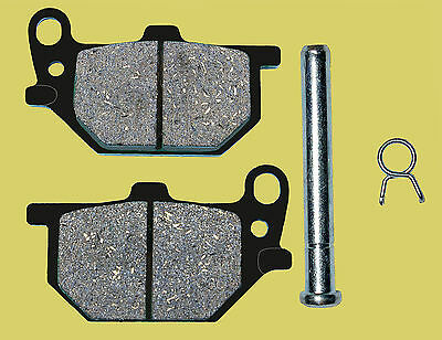 <em>YAMAHA</em> RD250 EF FRONT BRAKE PADS WITH PIN 1978 1979