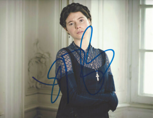 JESSIE BUCKLEY SIGNED AUTHENTIC 'TABOO' 8x10 PHOTO w/COA CHERNOBYL ACTRESS